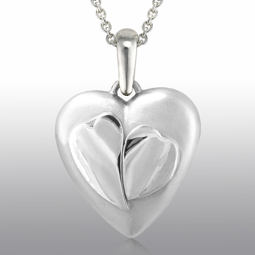 Sterling Silver Two Hearts VP1022SS